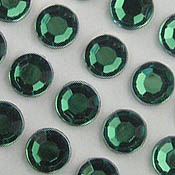 Self Stick 8mm Large Round Jewels - Sheet of 50 - in 7 Colors!
