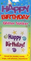 Happy Birthday! Glitter Tattoo